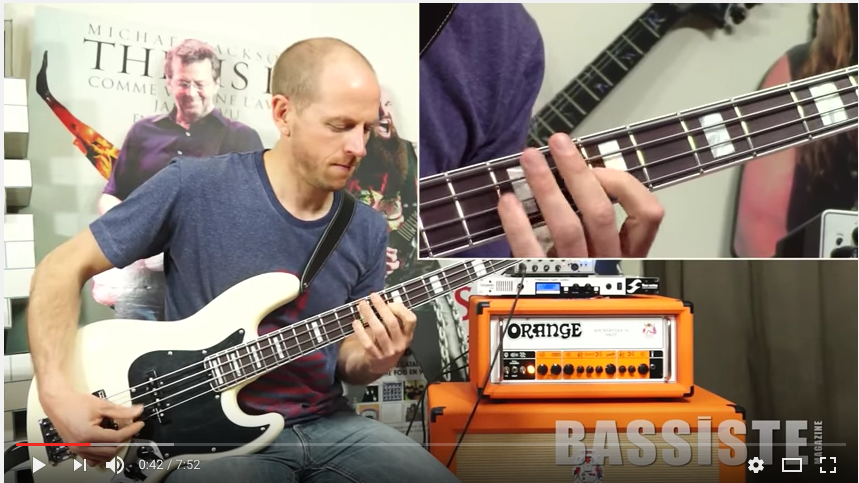 FABRICE DONNARD : Nathan East, Pino Palladino, Roscoe Beck, Tommy Shannon