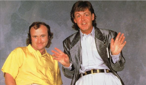 PAUL McCARTNEY VERSUS PHIL COLLINS