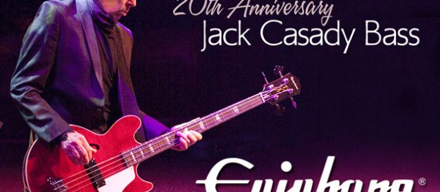 EPIPHONE 20TH ANNIVERSARY JACK CASADY