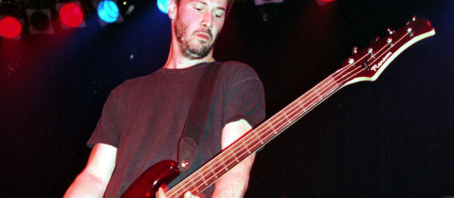 Keanu Reeves : ex-bassiste d'un groupe de rock