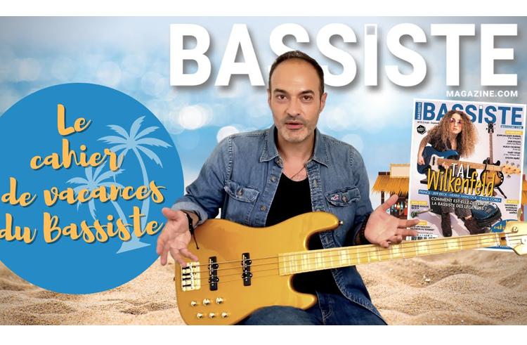 Cahier de vacances du bassiste (par Bruno Ramos)